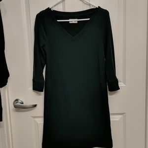 Lou and grey v neck sweater dress XXS